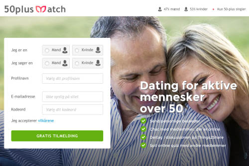 dating online 50 plus
